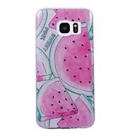 Samsung Galaxy s8 s8 plus tapauksessa poukamassa vesimeloni kuvio flash-jauhe IMD prosessi TPU-materiaali puhelimen tapauksessa s7 s6