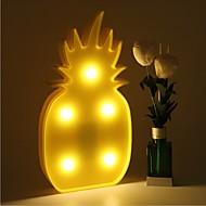 3D LED Night Light Pineapple Night Lamp Romantic Table Lamp Marquee Home Christmas Decor Battery LED Nightlight