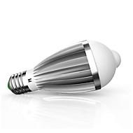 9W E26/E27 LED Έξυπνες Λάμπες G60 18 SMD 5630 880 lm Θερμό Λευκό Ψυχρό Λευκό Αισθητήρας Διακοσμητικό V 1 τμχ