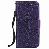 For Apple ipod touch 5 touch 6 Case Cover Card Holder Wallet with Stand Flip Embossed Pattern Full Body Case Flower Hard PU Leather