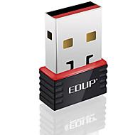 edup usb無線LANアダプタ150mbpsミニwifiドングルネットワークLANカードep-n8508