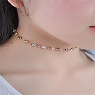 Žene Choker oglice Kristal Umjetno drago kamenje Jewelry Umjetno drago kamenje Moda Personalized Euramerican Simple Style kostim nakit