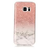 Til samsung galaxy s8 s8 plus cover marmor mønster tpu materiale imd håndtaske taske s3 s4 s5 s6 s7 s6 kant s7 kant