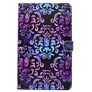 Pour samsung galaxy tab t580 t560 mandala motif peint pu cuir matériel housse de protection plate pour t550 t530 t350 t280