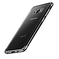 Για Θήκες Καλύμματα Επιμεταλλωμένη Πίσω Κάλυμμα tok Συμπαγές Χρώμα Μαλακή TPU για Samsung S8 S8 Plus
