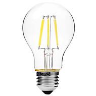 6W Żarówka dekoracyjna LED A60(A19) 6 COB 450 lm Ciepła biel Biały Przysłonięcia V 1 sztuka