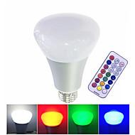 10W LED Έξυπνες Λάμπες LED Υψηλης Ισχύος 500 lm Θερμό Λευκό RGB Άσπρο Με ροοστάτη Τηλεχειριζόμενο V 1 τμχ