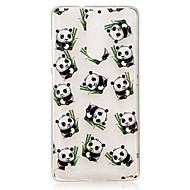 Voor lenovo k5 note k3 a2010 case cover panda patroon back cover soft tpu