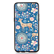 For oppo r9s r9s plus case dækning mønster bag cover case hjorte blomst dyr hard pc r9 r9 plus