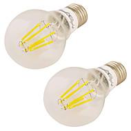 7W LED-pallolamput 6 COB 600 lm Lämmin valkoinen V 2 kpl