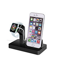 Gbu stand de ceas pentru seria de ceas de mere 1 2 ipad iphone 7 6 6s plus 5 5s 5c stand metalic all-in-1 cablu 38mm / 42mm nu include