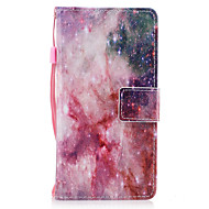 Samsung Galaxy a3 a5 (2017) suojus tähdet kuvio maalattu pu ihomateriaalia kortti stentti lompakko puhelinkotelo