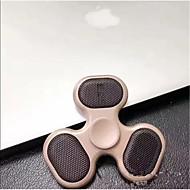 În aer liber fidget spinner difuzor a condus bluetooth difuzor mână difuzor de sprijin micro SD