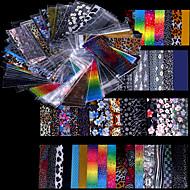 48 아트 스티커 네일 스트립 테이프를 포일 메이크업 화장품 아트 디자인 네일