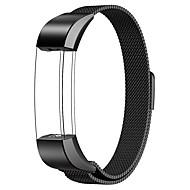 Voor fitbit alta / fitbit alta hr horlogeband milaan lus roestvrijstalen vervanging armband slim horlogebandje