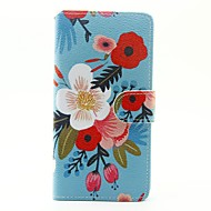 Til huawei p9 lite p8 lite taske dækker blomster mønster pu læder tasker til huawei y625