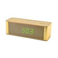 JY28C NFC Portable Wireless Bluetooth Speaker with Microphone FM Radio Clock HD Audio Handsfree Music Sound Box for iPhone Computer