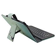 Voor Hoesje cover met standaard met toetsenbord Flip Patroon Volledige behuizing hoesje Woord / tekst Kleurgradatie Hard PU-leer voor