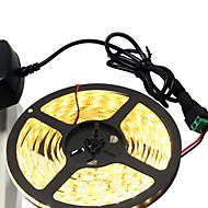 36W フレキシブルLEDライトストリップ 3400-3500 lm DC12 V 5 m 300 LEDの ウォームホワイト ホワイト