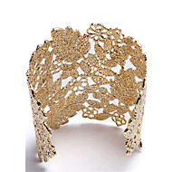 Damskie Bransoletki cuff Biżuteria Natura Postarzane Styl Punk Ręcznie wykonane Gotyckie Stop Oval Shape Biżuteria NaUrodziny Impreza /