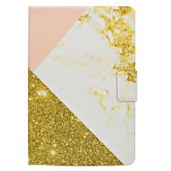 Tok samsung galaxis fülhöz t580 t560 rózsa arany márvány mintás pu bőr anyaga lapos védőburkolat t550 t530 t350 t330 t280