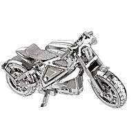 Puzzle Zestaw DIY Zabawki 3D Metalowe puzzle Cegiełki DIY Zabawki Motocykl