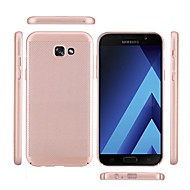 Taske til Samsung Galaxy a3 (2017) a5 (2017) matteret tilbage dække ensfarvet hårdt pc A7 (2017) A7 (2016) a5 (2016) a3 (2016)
