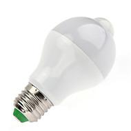 7W Smart LED-lampe A60(A19) 14 SMD 5730 650 lm Varm hvid Kold hvid Infrarød sensor Menneskekroppssensor Lysstyring V 1 stk.