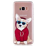 Samsung Galaxy S8 ja s8 puhelimen tapauksessa TPU-materiaali pennun kuvio maalattu puhelimen tapauksessa s7 reuna s7 s6 reuna s6