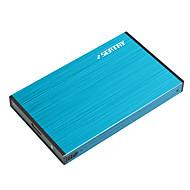 Székhely hdas6280-b 2,5 hüvelykes usb3.0 óra az SSD és mechanikus merevlemez alumíniumötvözet kékhez