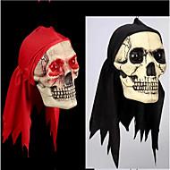 Halloween decoratie artikelen die truc truc speelgoed ogen zullen gloeien rode sjaal schedels wacky rekwisieten terroristische kleur