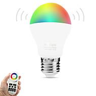 6W LED Έξυπνες Λάμπες A60(A19) 14 SMD 5050 600 lm Θερμό Λευκό RGB Διπλό χρώμα πηγής φωτόςΥπέρυθρος Αισθητήρας Με ροοστάτη Τηλεχειριζόμενο
