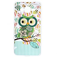 For Samsung Galaxy J3 Prime  J5 Prime Case Cartoon green owl TPU Protection Back Cover Box J2 Prime J7 Prime