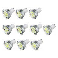 3.5 Spot LED MR16 16 SMD 5630 360-400 lm Blanc Chaud Blanc AC 100-240 V 10 pièces