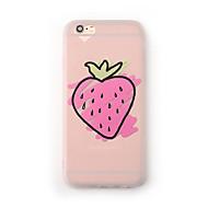 Case for apple iphone 7 plus 7 kotelopäällinen himmeä läpikuultava kuvio takakotelo tapaus hedelmä pehmeä tpu iphone 6s plus 6 plus 6s 6