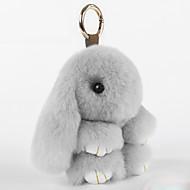 가방 / 폰 / 열쇠고리 참 만화 장난감 렉스 토끼 모피