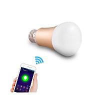 5W E26/E27 LED Έξυπνες Λάμπες A50 24 SMD 5050 600 lm RGB Με Ροοστάτη / Διακοσμητικό / WIFI AC 220-240 V 1 τμχ