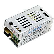 Hkv® 1pcs mini-størrelsesledet skifte strømforsyning 12v 1.25a 15w lystransformator strømadapter ac100v 110v 127v 220v til dc12v ledet
