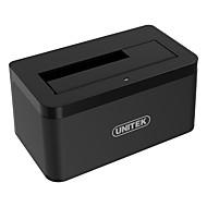 unitek y-1078 3.5 / 2.5 인치 sata3 usb3.0 5 gbps 알루미늄 합금 블랙 하드웨어 상자
