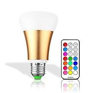 10W LED Έξυπνες Λάμπες 32 Ενσωματωμένο LED 550 lm RGB + θερμό RGB + λευκό Με ροοστάτη Τηλεχειριζόμενο Διακοσμητικό AC 85-265 V 1 τμχ