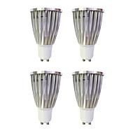 6W LED Σποτάκια MR16 1 COB 480 lm Θερμό Λευκό Άσπρο AC 220-240 V 4 τμχ GU10