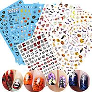 1 아트 스티커 네일 패턴 3-D DIY 용품 스티커 메이크업 화장품 아트 디자인 네일