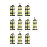 4W LED Bi-Pin lamput 120 SMD 2835 320 lm Lämmin valkoinen Valkoinen DC 12 V 10 kpl G4
