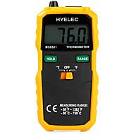 데이터 hyelec ms6501 대형 LCD 디스플레이 디지털 온도계 K 형 열전대 termometro은 / 로깅을 보유