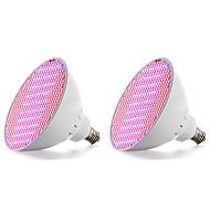 30W E27 LED-kasvivalo 500 SMD 3528 3000-3600 lm Punainen Sininen V 2 kpl