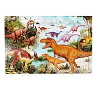 Jigsaw Puzzle Fából készült építőjátékok Építőkockák DIY játékok Dinoszaurus