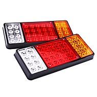 Ziqiao 1 par 12v 36 led svjetla upozorenja stražnje svjetlo kamiona stražnje svjetiljke vodonepropusne stražnje dijelove za kamion s