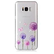 Περίπτωση για το Samsung Galaxy s8 s8 plus κάλυψη περίπτωσης πικραλίδα σχέδιο αίσθηση βερνίκι ανακούφιση υψηλή διείσδυση tpu τηλέφωνο