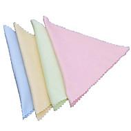 tkaniny z włókien Superfine telefon komórkowy lub komputer lub okulary czyszczenia losowe kolory (zestaw 10szt)