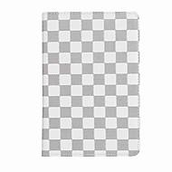 Voor case cover kaarthouder full body case rooster patroon hard pu leer voor ipad mini 4 mini 3/2/1